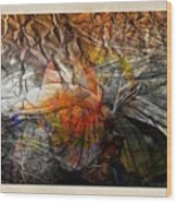 Abstraction 3417 Wood Print