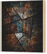 Abstraction 3421 Wood Print
