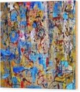 Abstraction 763 - Marucii Wood Print
