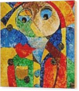 Abstraction 770 - Marucii Wood Print