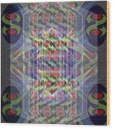 Abstraction Three Wood Print