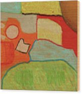 Abstraction123 Wood Print