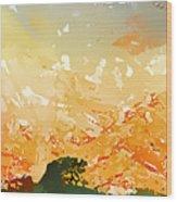 Abstractograpia  IIi Wood Print