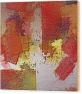 Abstrakt In Serie Wood Print