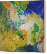 Abstraktes Bild 18 Wood Print