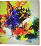 Abstrato Zzzo Wood Print