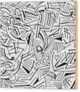 Abstruse Wood Print