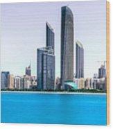 Abu Dhabi Corniche Wood Print