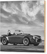 Ac Shelby Cobra Wood Print