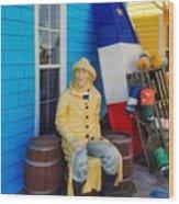 Acadian Fisherman, Prince Edward Island, Canada Wood Print