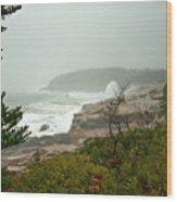 Acadian Storm Wood Print