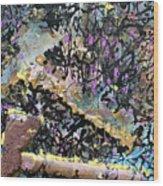 Accetta Caduta Wood Print
