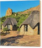 Accommodation In Bulawayo  Wood Print