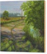 Ace Basin Pathway Wood Print