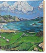 Achill Island Wood Print