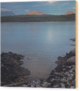 Achnahaird Bay And Assynt Mountains Wood Print