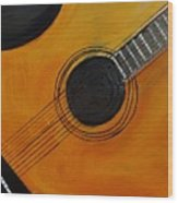 Acoustic Guitar Wood Print