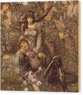 Acrasia Wood Print