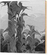 Acropolis Rhodes Wood Print