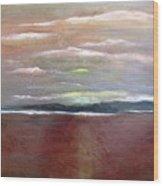 Across The Horizon Wood Print