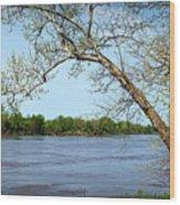 Across The Wide Missouri Wood Print