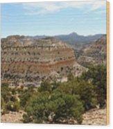 Across Utah  Wood Print