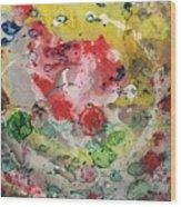 Acrylic Abstract 15-u.uuu Wood Print