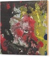 Acrylic Abstract 15-v.vvv Wood Print