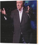 Actor And Comedian William Shatner Wood Print