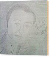 Actor Julian Mcmahon Wood Print
