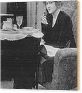 Actress Glady Brockwell Wood Print
