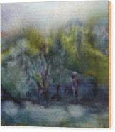 Ada River Wood Print
