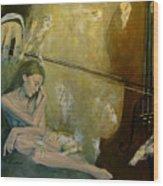 Adagio  Sentimental Confusion Wood Print