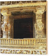 Adalaj Stepwell 3 Wood Print