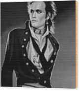 Adam Ant Painting Wood Print