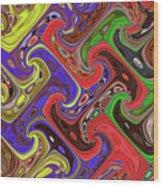 Added Colors Wood Print