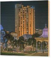 Adelaide Riverfront Wood Print