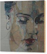 Adele - Make You Feel My Love  Wood Print