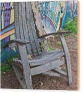 Adirondack Chair ? Wood Print