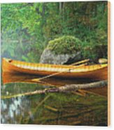 Adirondack Guideboat Wood Print