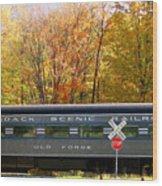 Adirondack Scenic Railroad Wood Print