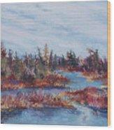 Adirondak Concerto Wood Print