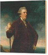 Admiral Viscount Keppel Wood Print