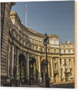 Admiralty Arch. Wood Print