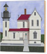 Admiralty Head Light Station Circa 1920 Wood Print