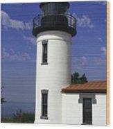 Admiralty Head Lighthouse Li2024b Wood Print