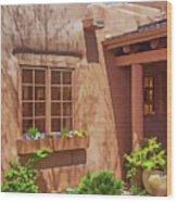 Adobe Gallery, Santa Fe Wood Print