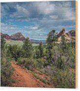 Adobe Jack Trail Wood Print