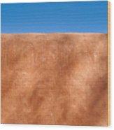 Adobe Wall Santa Fe Wood Print
