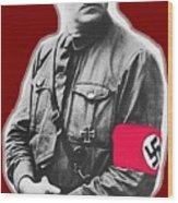 Adolf Hitler Crossed Hands Circa 1934-2015 Wood Print